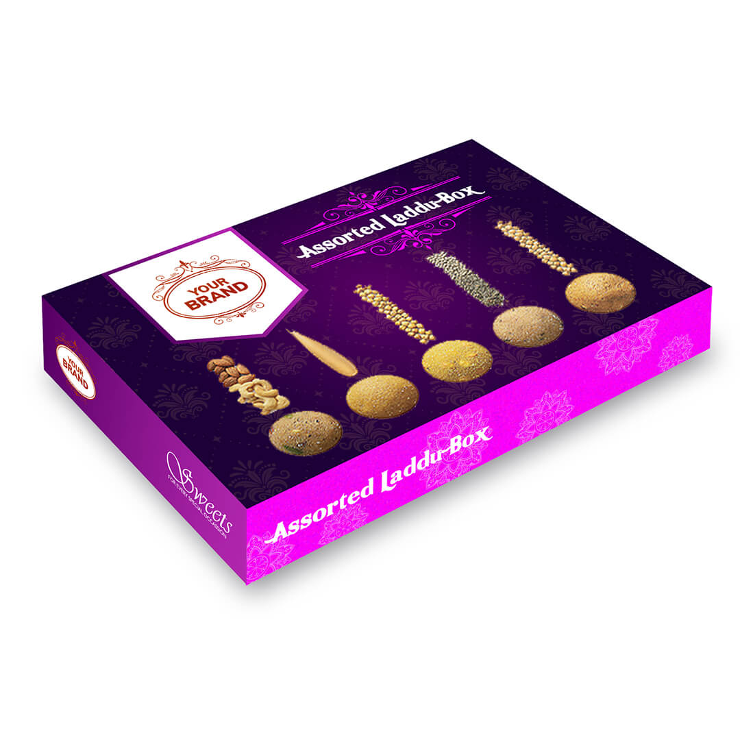 Assorted Laddu - Your Brand